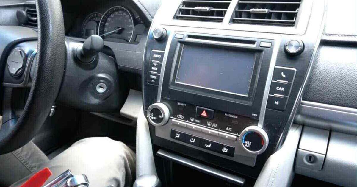 problème de l'autoradio